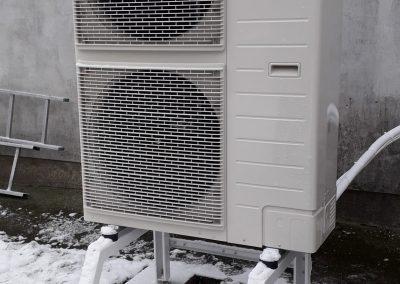 Ogorzeliny, pompa ciepła Panasonic 12kW